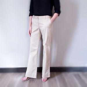 Banana Republic Khaki Trouser Pants Bootcut